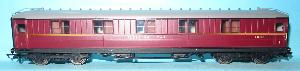 R4570 Ex LNER 61ft 6in Sleeping Car E1210E